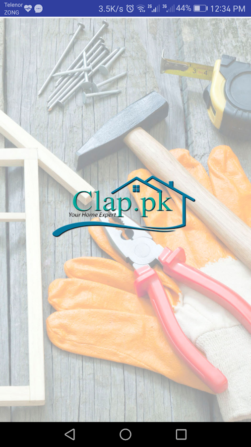 Clap building materials, building and home service- screenshot