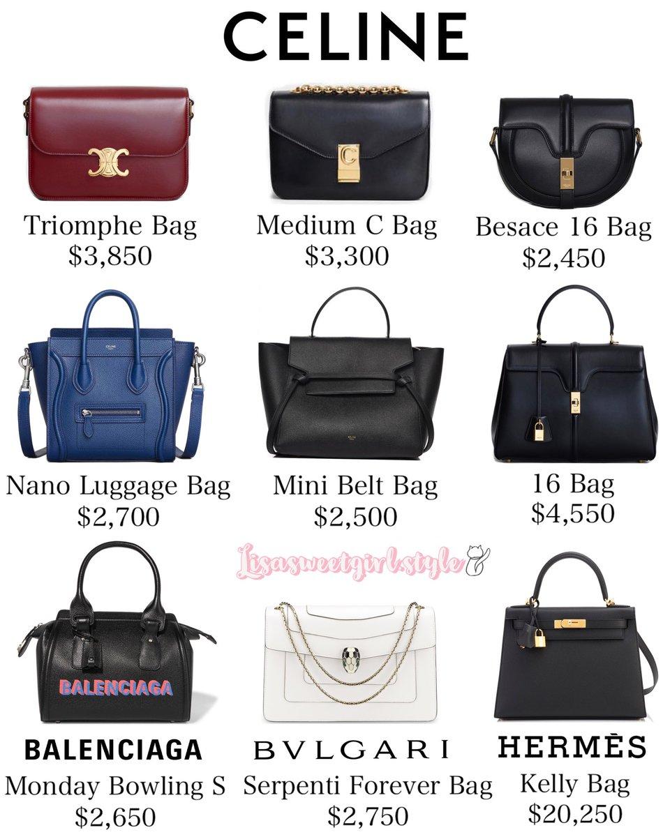 blackpink lisa bags 2