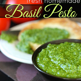 Fresh Homemade Pesto