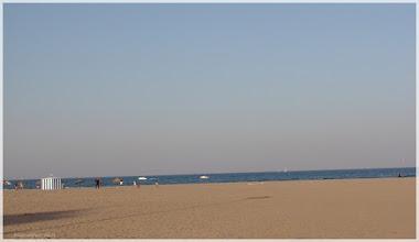 Photo: Playa las Arenas . Valencia http://www.viajesenfamilia.it/