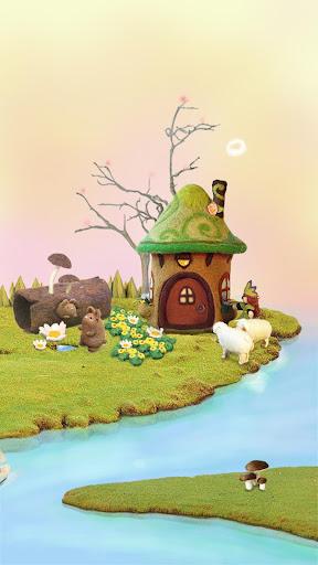 童年夢幻小屋動態壁紙