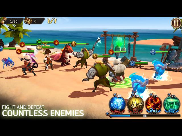 android Shards of Magic Screenshot 3