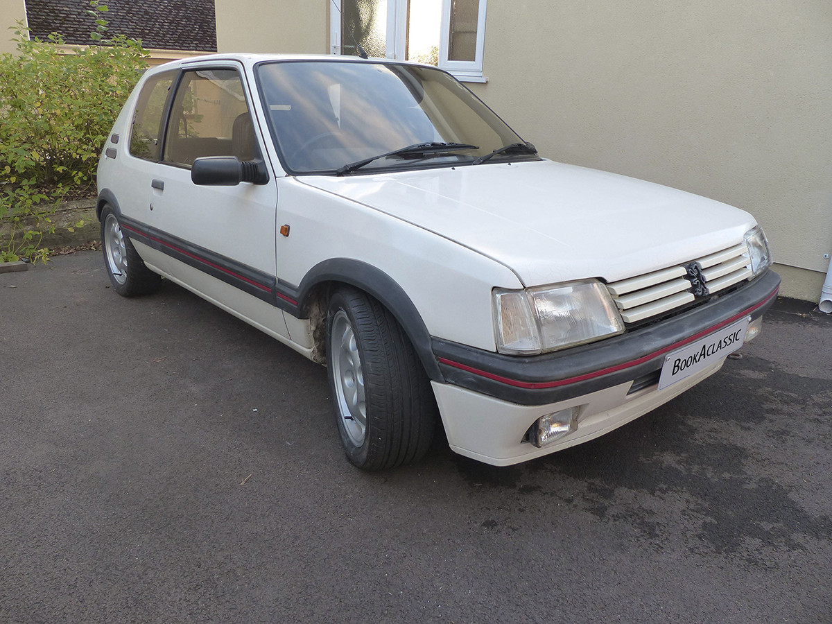 Peugeot 205 Gti Hire Monmouth