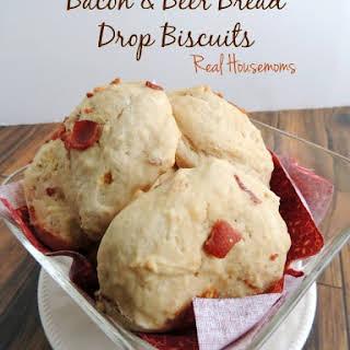 Bacon & Beer Bread Drop Biscuits.