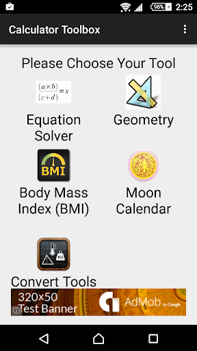 Calculator and Toolbox