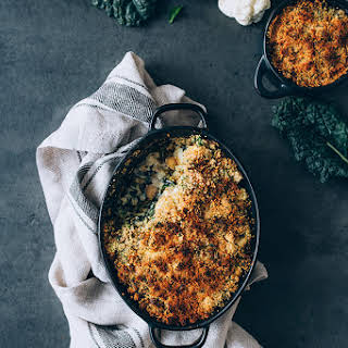 Loaded Cauliflower Casserole {Vegan}.