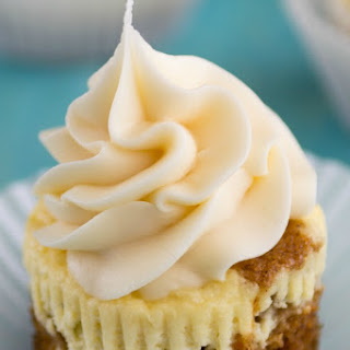 Carrot Cake Cheesecake Cupcakes.