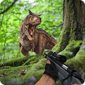 Dino Sniper Shooter : Hunt dinosaurs to Survive icon