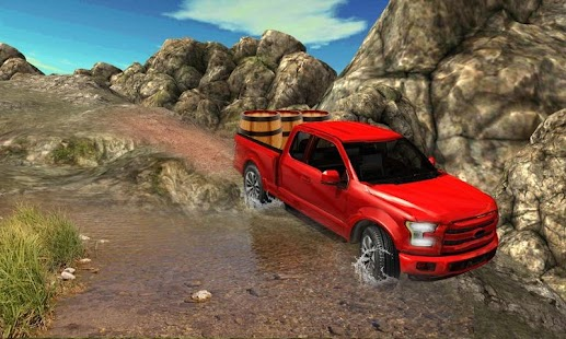 Pickup Truck Racing Game : Offroad Cargo Truck - náhled