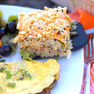 4 State Cheddar®, Bacon, & Kale Hash Brown Casserole