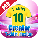 Jersey Creator T-shirt Design icon