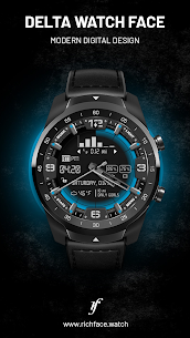 Delta Watch Face – MOD + APK + DATA Download 1