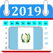 Guatemala 2019 Calendar-Holiday