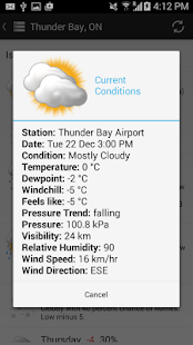 Canada Weather & Radar- screenshot thumbnail