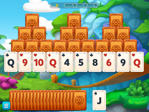 TriPeaks Solitaire Adventure - screenshot
