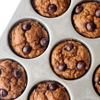 Vegan Pumpkin Oatmeal Muffins