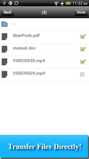 WiFi File Transfer-NearPush LE