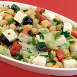Chickpeas Paneer Salad (Channa Paneer Salad)
