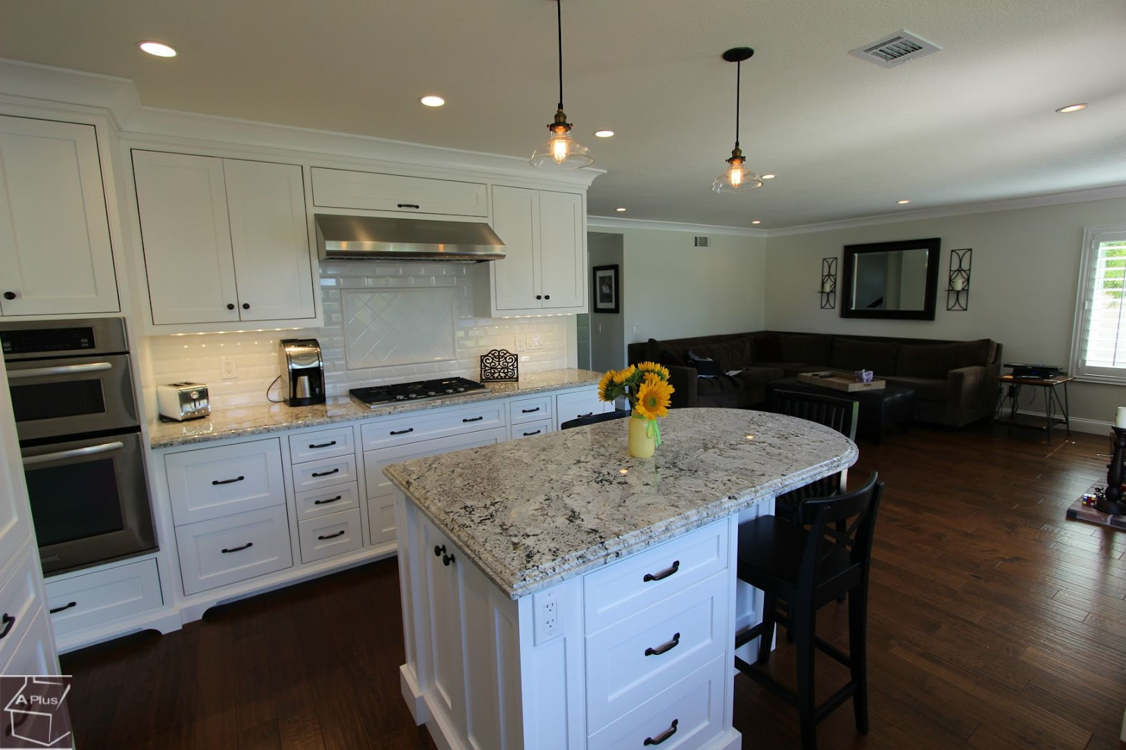 Laguna Niguel Kitchen Remodel With Brand New Custom Cabinets