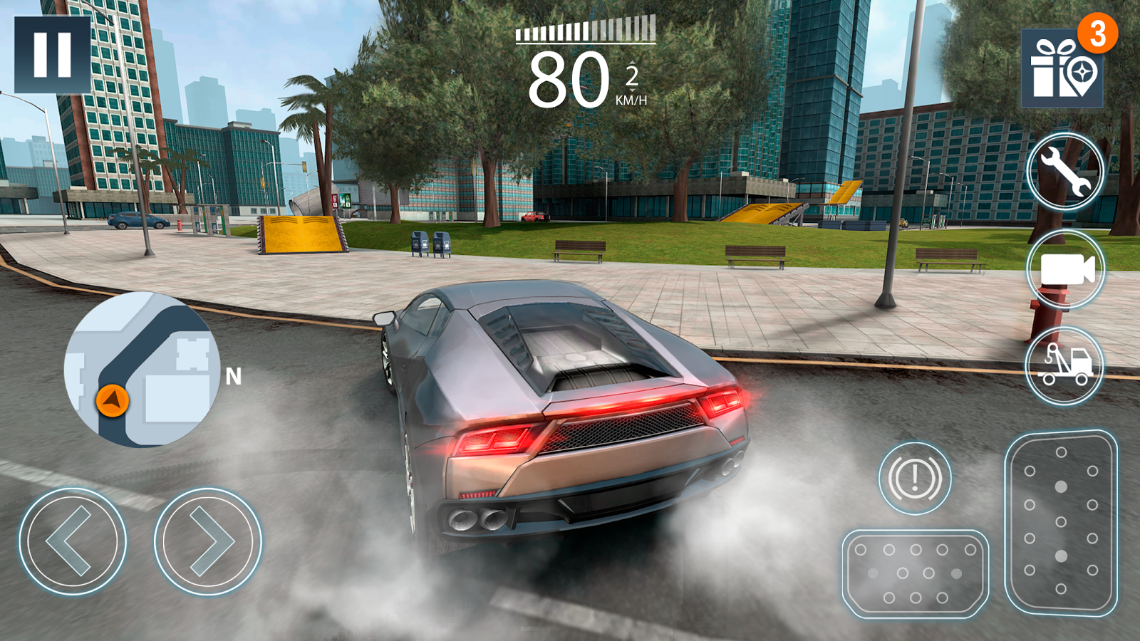 extreme car driving simulator 2 android apps on google play. Black Bedroom Furniture Sets. Home Design Ideas