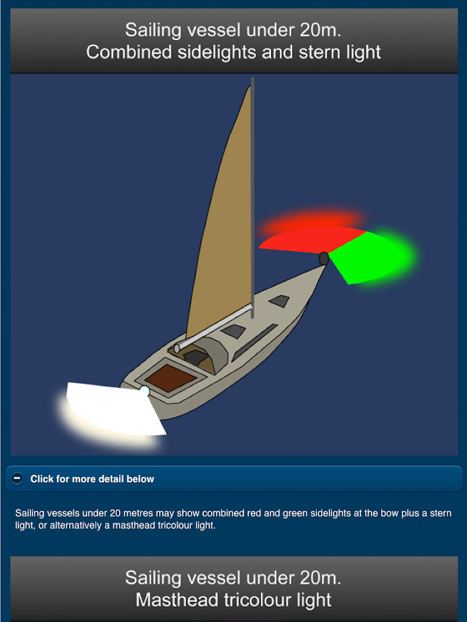 Navigation Lights & Shapes- screenshot