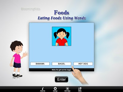 Eating Foods Using Words Lite Version- screenshot thumbnail