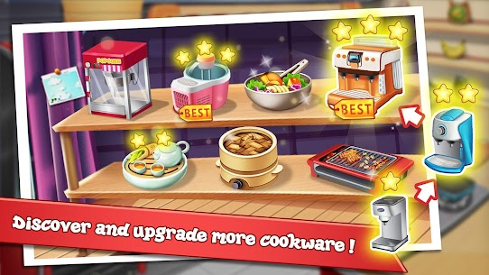 Rising Super Chef – Craze Restaurant Cooking Games 4