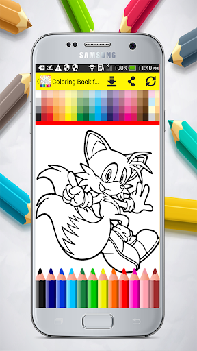 Coloring Book for Sonic 1.0 screenshots 3