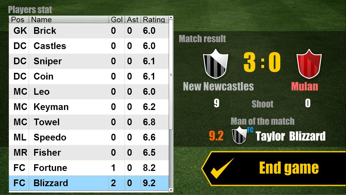 Football Challenger - League- screenshot