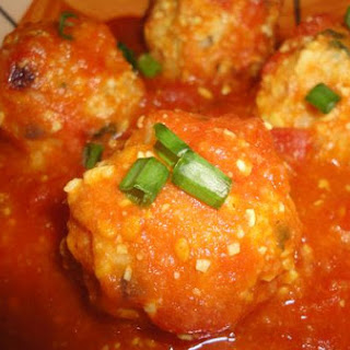 Soybean Koftas With Tomato Sauce