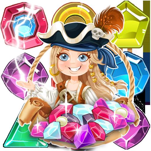 Pirate Treasure Match 3 Attack
