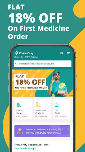 PharmEasy – Online Medicine Ordering App 4.9.23 screenshots 1
