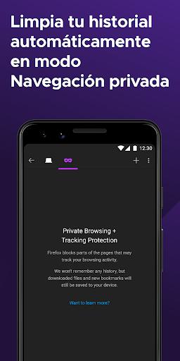 Firefox: el navegador web rápido y privado screenshot 3