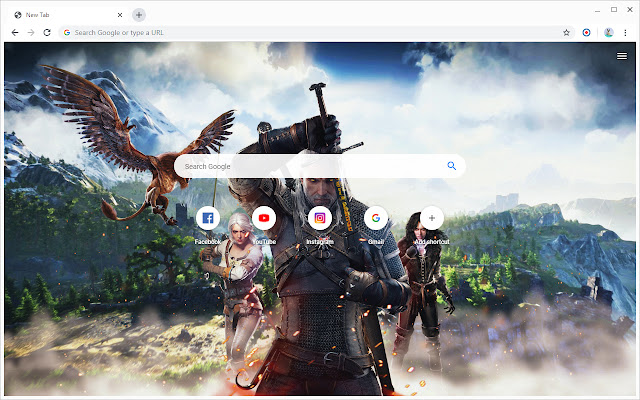 New Tab - The Witcher