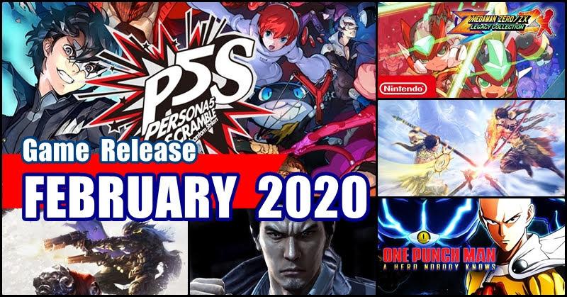 Game Release Feburary 2020 เกมน่าโดนเดือนกุมภาพันธ์