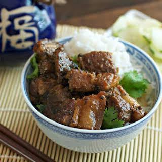 Braised Thai Pork Belly.