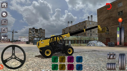 Excavator Simulator Backhoe Loader Dozer Game 2