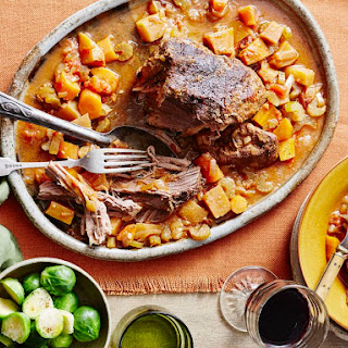 Easy Pot Roast With Vegetables.