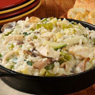 One-Pot Veggie & Chicken Risotto Recipe
