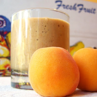 Sweet Summer Spice Apricot Smoothie.