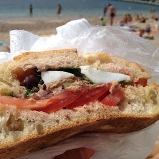 Pan Bagnat - A Nicoise-style Sandwich