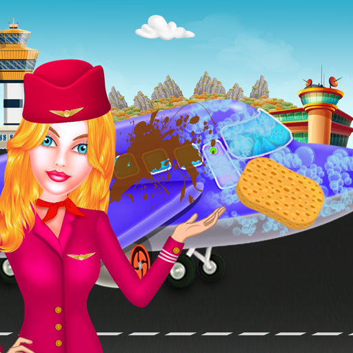 Dirty Airplane Holiday Cleanup: Wash, Repair & Fix (game)