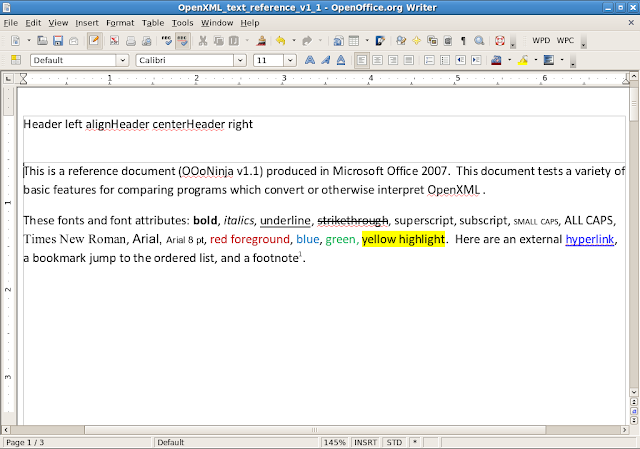 OxygenOffice as a Word 2007 ( docx) converter - OpenOffice