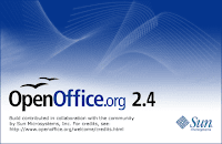 OpenOffice.org 2.4 splash screen