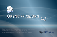 OpenOffice.org intro splash screen by dimitrispan88