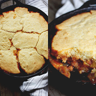 Summer Chili Cornbread Cobbler