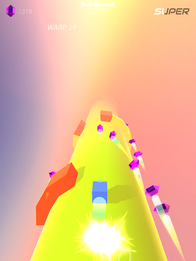 Warp and Roll - running flight action game 1.1.7 screenshots 10