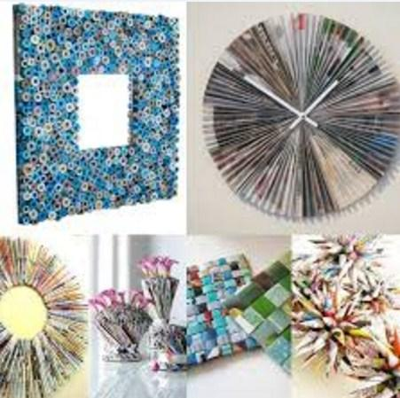 DIYのリサイクル工芸