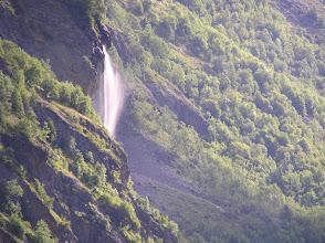 Photo: Départ matinal de Dormillouse : le lever du jour sur la cascade de Dormillouse.