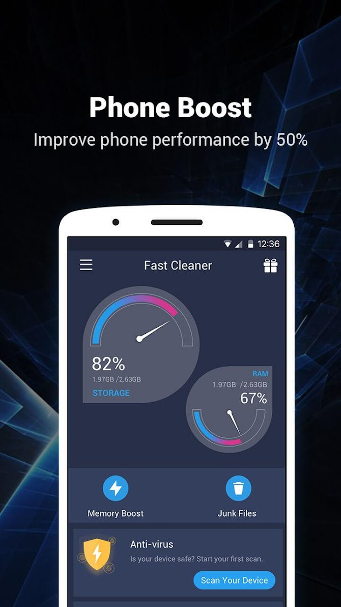 Fast Cleaner - Speed Booster & Cleaner Android 2